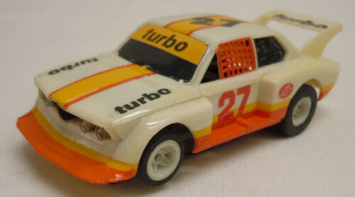 Vintage Tomy Aurora AFX #27 BMW 320i Turbo HO Slot Car