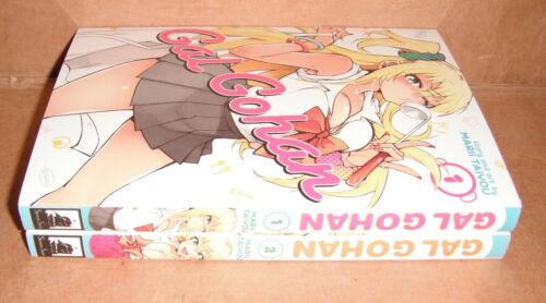 Gal Gohan Vol. 1,2 Manga Graphic Novels English