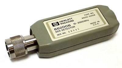 Hp 86200b Rf Scalar Detector 50 Ohm 10 Mhz To 3000 Mhz Type N Connector Tested