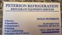 Peterson Refrigeration and Restaurant Equipment Services
