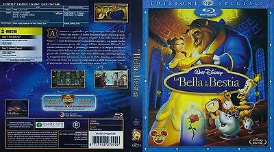 Disney Bella (DISNEY BLU RAY La bella e la bestia con slipcover piatta)