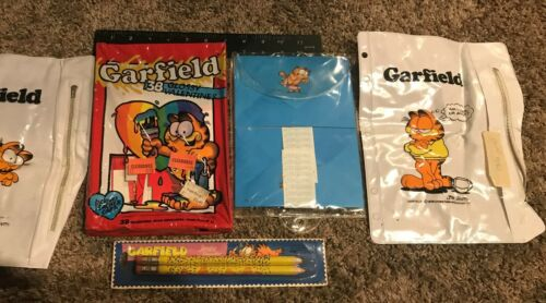 Vintage 1978 United Features Syndicate Garfield Lot