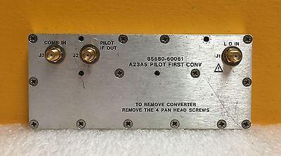 Hp Agilent 85680-60061 A23a5 Pilot 1st Converter Assy. For 8568b Etc.