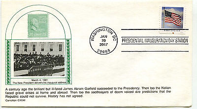 2017 Donald J Trump Carrollton,  Inauguration Day Cover (relisted)
