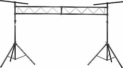 Chauvet CH-31 10 Ft Portable DJ Trussing w/ T Bars Light Stand - 200 lb Capacity