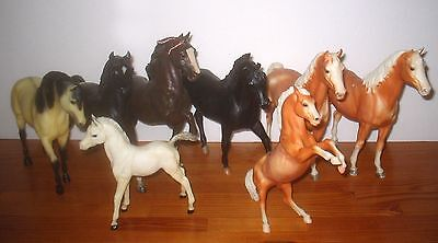 Bundled Lot Used BREYER Plastic Model Toy Horses