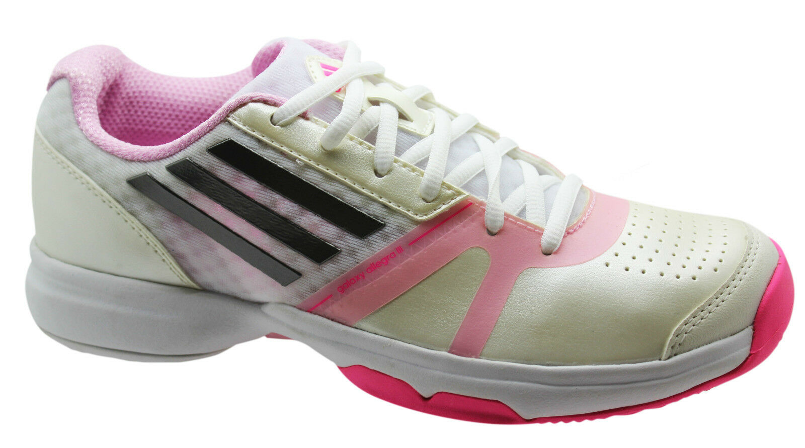 Adidas Sports Galaxy Allegra III Womens Trainers Tennis Shoes Lace Up M19766 U39