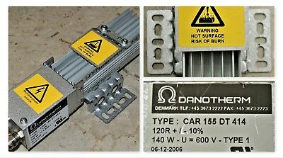 Danotherm Type Car155dt414 Aluminium Housed Compact Brake Resistors Ip 20