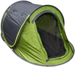 GO CAMPING THE EASY WAY - NEW NORTH49 INSTANT SET UP TENTS - No need to fumble around in the woods!!