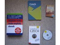 Czech language learning books