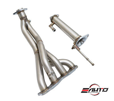 4-1 STAINLESS STEEL EXHAUST RACING HEADER FOR 06-11 HONDA CIVIC SI K20 FA5 FG2
