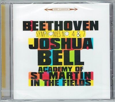 Joshua BELL: BEETHOVEN Symphony No.4 7 Academy of St Martin in the Fields CD (Joshua Bell St Martin In The Fields)