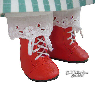 Red 1800 Steeple Boots works for 18