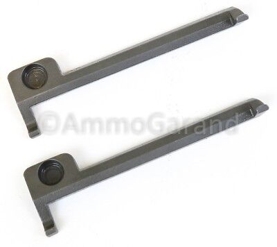 2ea M1 Garand Clip Latch Squared End New Production Spare Parts