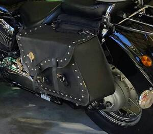 Willie & Max Compact Slant Stud Saddlebags Mooroobool Cairns City Preview