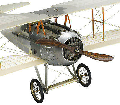 Wwi Spad Transparent Biplane Hanging Airplane Wood Model 24 Quot Home Decor