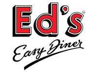 Grill Chef Eds Diner Victoria -IMMEDIATE START-Full-Time/Part-Time–Competitive pay plus tips