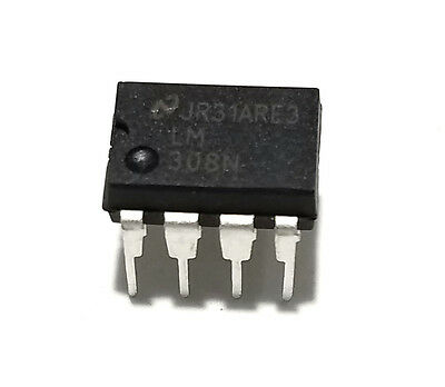 1pcs National Semiconductor Lm308n Lm308 - Precision Op Amp - New Ic