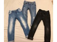 Next boys skinny jeans age 5 years