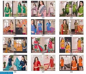SACHIKA BY MOOF WHOLESALE EMBROIDERED DRESS MATERIAL