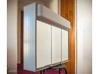 Schneider 3 door mirrored Bathroom Cabinet with light & shaver socket