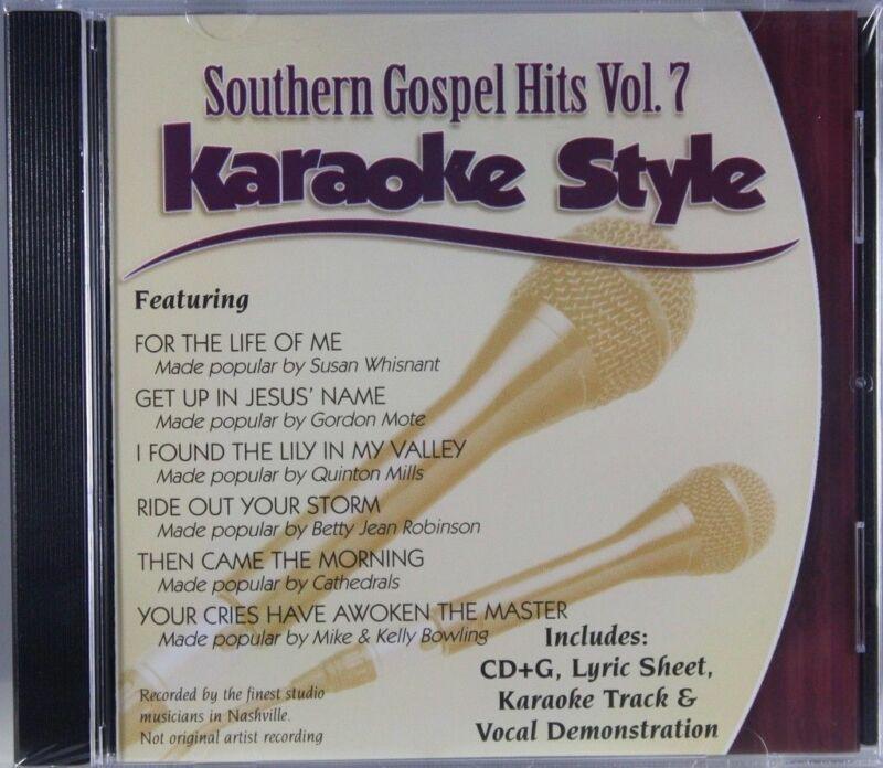 Southern Gospel Hits Volume 7 Christian Karaoke Style NEW CD+G Daywind 6 Songs