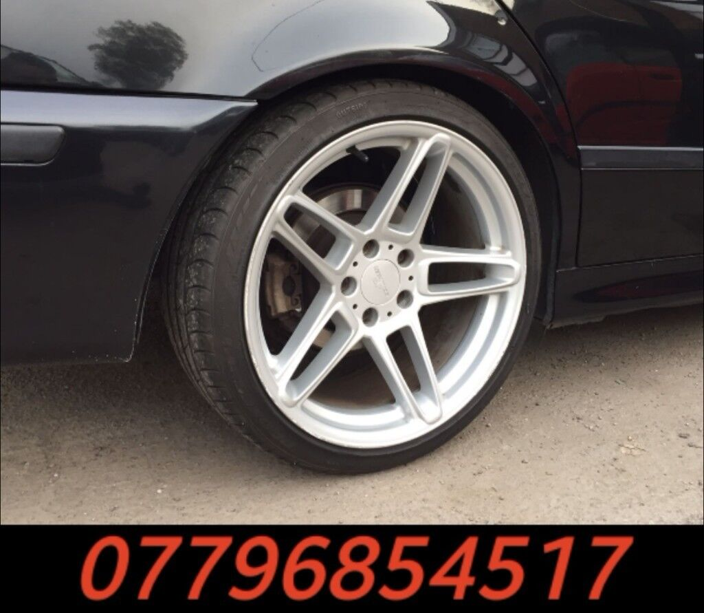 19 Inch Genuine AC Schnitzer Type 3 Alloy Wheels & Tyres
