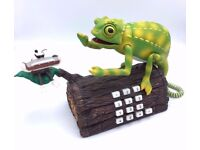 Karma Chameleon Telephone Animated Singing Culture Club Boxed New