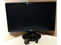 "Asus 22"" 1080p widescreen monitor good condition £50"
