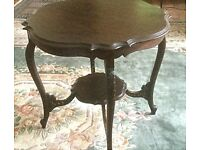 Late Victorian occasional table. Good condition, for sale