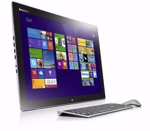 "LENOVO HORIZON II  27"" FHD touchscreen  *NEW SEALED  Box* Intel i7 3.1 GHz   8GB  1TB,NVIDIA GeFerce GT 840A"
