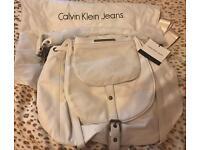 Brand New Calvin Klein White Leather Bag £100