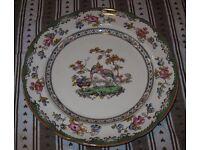 c1914 Copeland Spode Pheasant design Plate Rd 615911