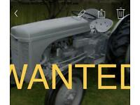 Tractor anything wanted