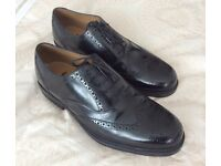 Clarks, Men's Leather Brogues, Size 11, Wide Fitting. As New.