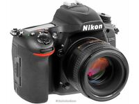 Nikon D750 With 50mm 1.4g Standard Lens