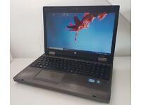 """HP ProBook 6560b, 15.6"""", i3-2350M, 8GB RAM, 320GB HDD, Win 10 Pro"""