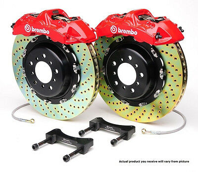Brembo GT BBK 4pot Front for 2000-2003 Ford F150 Expedition Navigator 1B2.8018A2