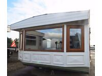 3 BED STATIC CARAVAN FOR SALE - DOUBLE GLAZED PANEL HEATED- GREAT VALUE