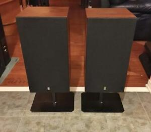 Gorgeous Vintage Yamaha Floor-Standing Speakers	NS 55  **Reduced**