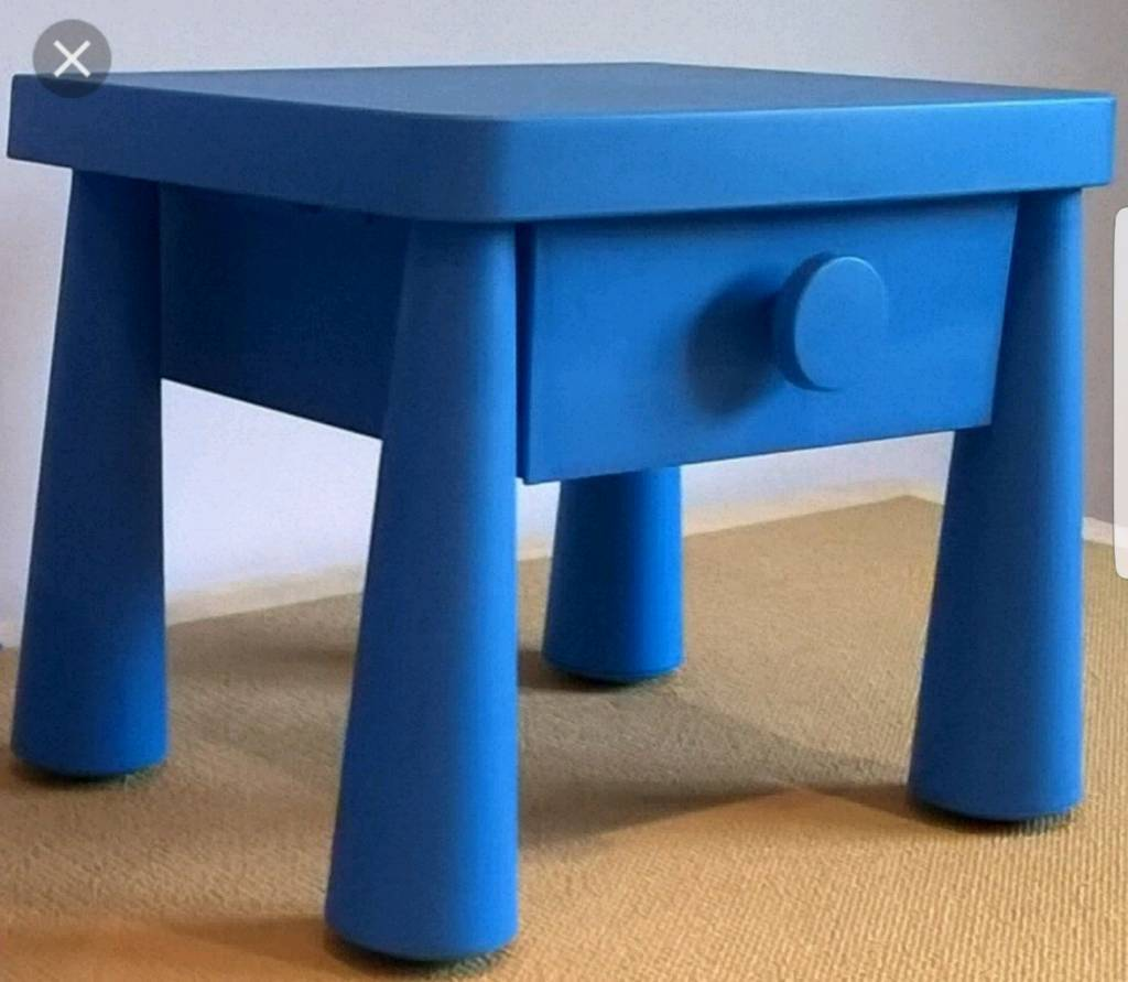 Ikea Mammut Bed Table Drawer