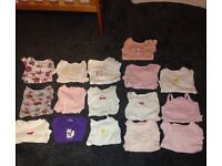 Baby girl bundle 1st size and 0-3 months pick up only