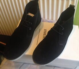 Brand new Ben Sherman desert boots. Suede. Size 7. Boxed, never worn. £35! Trainers, sneakers, shoes