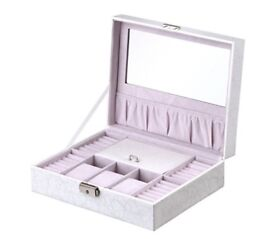 Leather Jewellery box for sale