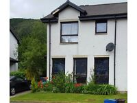 SWAP WANTED 2 bed end terrace in Strathyre for 2 bed house Denny, Larbert area