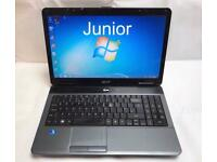 Acer Fast Laptop, 320GB, 3GB Ram, Window 7, Microsoft office, Very Good Condition, Ready to use