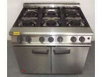 Used Falcon 6 Ring Cooker With Oven - Get It Now PAY OVER 4 MONTHS