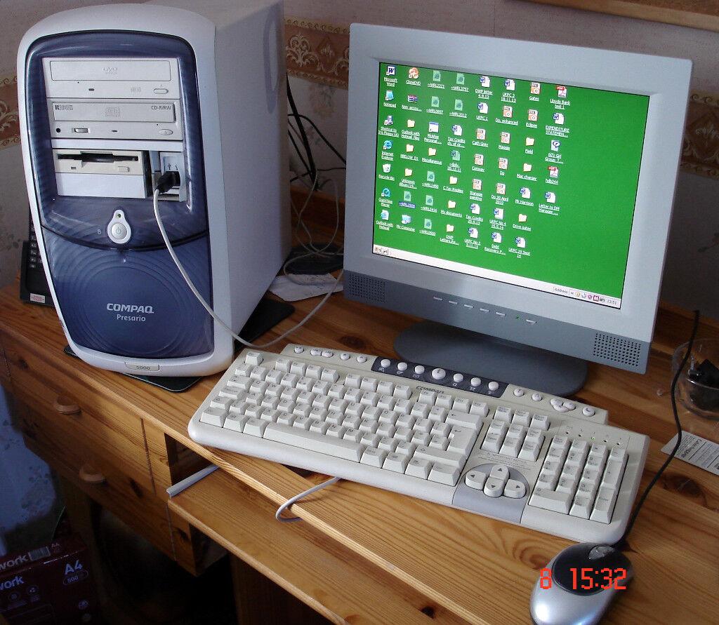 Compaq Presario 5000 Desktop 901mhz, XP pro