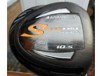 ADAMS driver Speedline with ehad cover- stiif flex £29