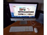 """Apple 21.5"""" iMac Core 2 Duo 3.06GHz 4GB RAM 500GB HDD V.Good Condition"""
